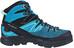 Salomon W's X Alp Mid Ltr GTX Shoes black/hawaiian ocean/aruba blue